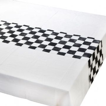 Alice in Wonderland chequered table runner
